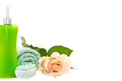 Schoonheidsmiddelen voor lichaam. Royalty-vrije Stock Foto's