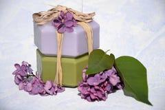 Schoonheidsproducten .cosmetic Stock Fotografie