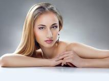 Schoonheidsvrouw royalty-vrije stock afbeeldingen