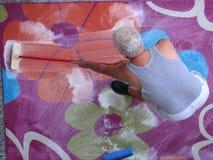 Schoonmakend tapijt royalty-vrije stock afbeelding