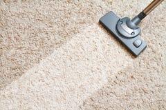 Schoonmakend tapijt hoover