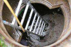 Schoonmakend waterreservoir Stock Afbeeldingen