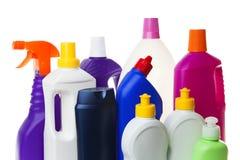 Schoonmakende producten Stock Foto's