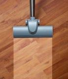 Schoonmakende vuile vloer Stock Foto