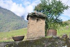 Schoorsteen in Bhutan Stock Afbeelding