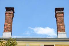 schoorstenen Stock Foto
