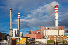 Schoorstenen 1 van de fabriek Royalty-vrije Stock Afbeelding