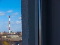 Schoorstenen 1 van de fabriek Royalty-vrije Stock Afbeeldingen
