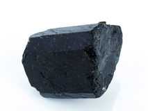 Schorl Tourmaline. Royalty Free Stock Image