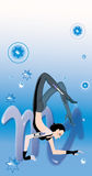 Schorpioen (teken van dierenriem) Stock Illustratie
