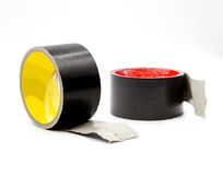 schot industry tape on white Stock Photos