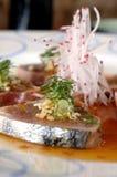 Schotel 3 van sushi royalty-vrije stock afbeelding