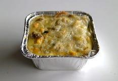 Schotel de macaronis Photos libres de droits