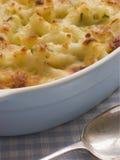 Schotel van de Kaas van de Macaroni stock foto's