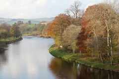 Schotland in de Herfst Stock Fotografie