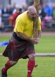 Schotland - de Spelen van het Hoogland Stock Fotografie