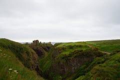 Schotland, Dunnotar-kasteel Stock Foto's
