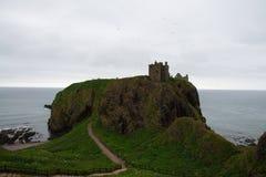 Schotland, Dunnotar-kasteel Royalty-vrije Stock Fotografie