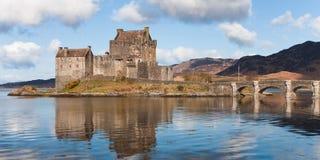 Schotland: Het Kasteel van Donan van Eilean royalty-vrije stock foto