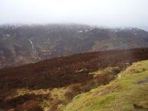 Schotland lanscape bij Schots hoogland 2 stock afbeelding