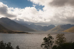 schotland Loch Quioch Oktober 2014 Royalty-vrije Stock Afbeeldingen