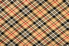 Schots geruit Schots wollen stofpatroon Royalty-vrije Stock Foto