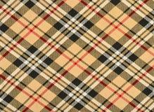 Schots geruit Schots wollen stofpatroon Stock Afbeelding