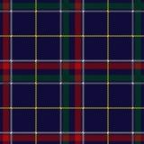 Schots Geruit Schots wollen stof Geruit Naadloos Patroon Vector herhaal achtergrond Royalty-vrije Illustratie