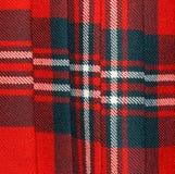 Schots Geruite Schotse wollen stof: Moderne Scott Stock Foto's