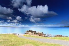 Schots hooglandstrand Stock Foto