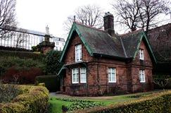 Schots huis stock afbeelding