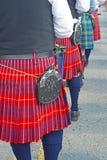 Schots-Ierse festivaldeelnemers Royalty-vrije Stock Afbeelding