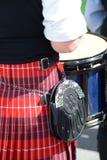Schots-Ierse festivaldeelnemers Stock Fotografie