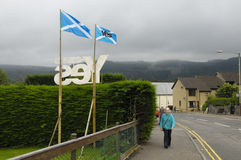 Schots Indy-Referendum 2014 Stock Fotografie
