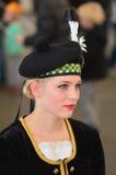 Schots Meisje Royalty-vrije Stock Foto