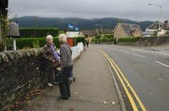 Schots Onafhankelijkheidsreferendum Dag 2014 Royalty-vrije Stock Afbeeldingen