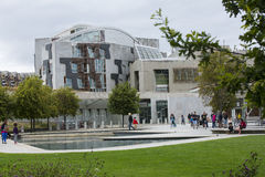 Schots Parlementsgebouw, Edinburgh Royalty-vrije Stock Foto