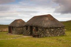 Schots plattelandshuisje stock fotografie