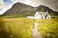 Schots plattelandshuisje royalty-vrije stock fotografie