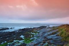 Schots strand Royalty-vrije Stock Foto