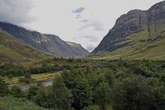 Schots toerisme Glencoe stock afbeeldingen