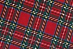 Schots weefsel, hellende lijnen, hoge resolutie Royalty-vrije Stock Afbeelding