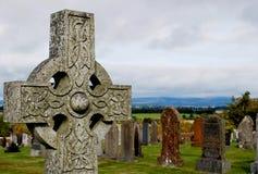 Schotse Begraafplaats Stock Afbeelding