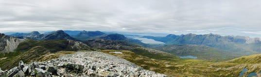 Schotse bergen stock foto