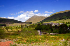 Schotse bergen Royalty-vrije Stock Fotografie