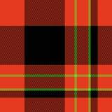 Schotse geruite Schotse wollen stofplaid Stock Foto