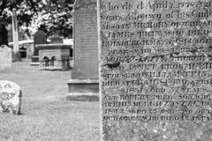 Schotse Gravesite stock afbeeldingen