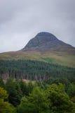 Schotse heuvels stock fotografie