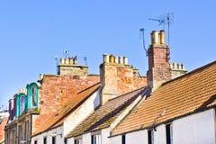 Schotse huizen Stock Fotografie
