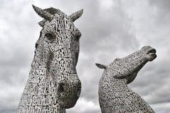 Schotse Kelpies Royalty-vrije Stock Foto